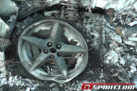 Arde un Ferrari 360 Spider en Hamburgo