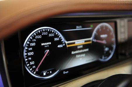 Brabus ya tiene su peculiar Mercedes Clase S