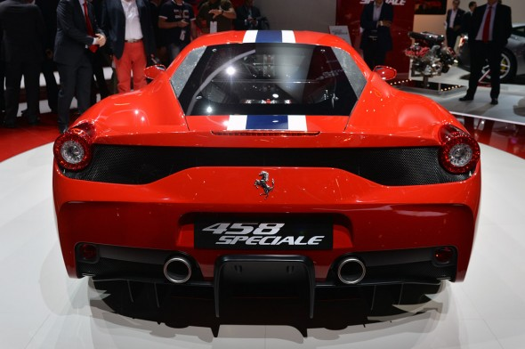 Fráncfort 2013: Ferrari 458 Speciale