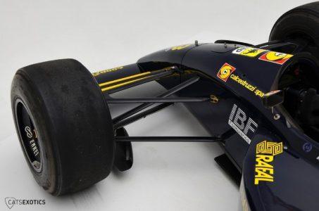 A la venta un extraño Lamborghini Minardi de F1