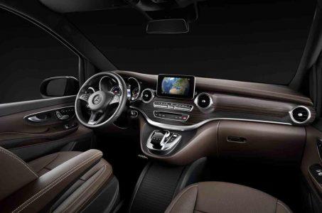 Turno del Mercedes Clase V, imágenes del interior
