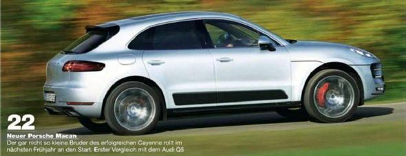 ¡Filtrado! Así es el Porsche Macan 2