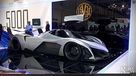 Devel Sixteen: más de 500 km/h de velocidad máxima y 5000 CV 4