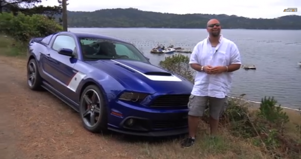 Drive y el Ford Mustang Roush Stage 3 1