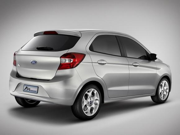Ford presenta el Ka Concept: la opción para mercados emergentes 2