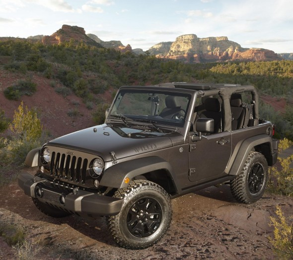 Jeep Wrangler Willys Wheeler Edition 1
