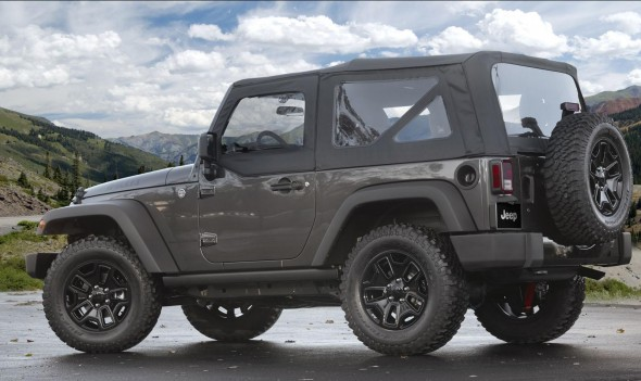 Jeep Wrangler Willys Wheeler Edition 2