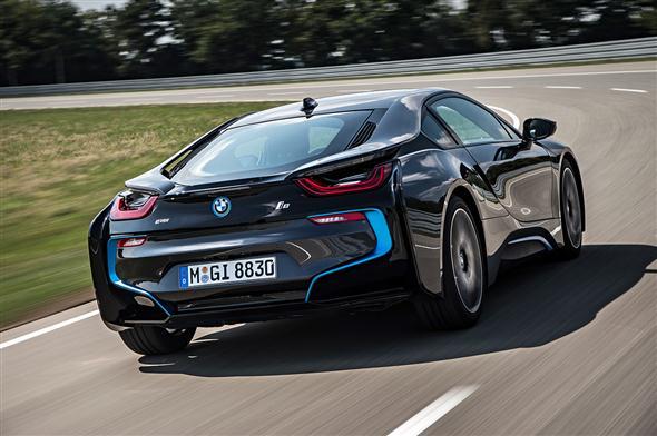 La producción del BMW i8, vendida durante un año 2