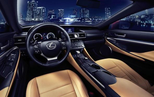 Lexus RC 2014, el deportivo japonés muestra su cara 2