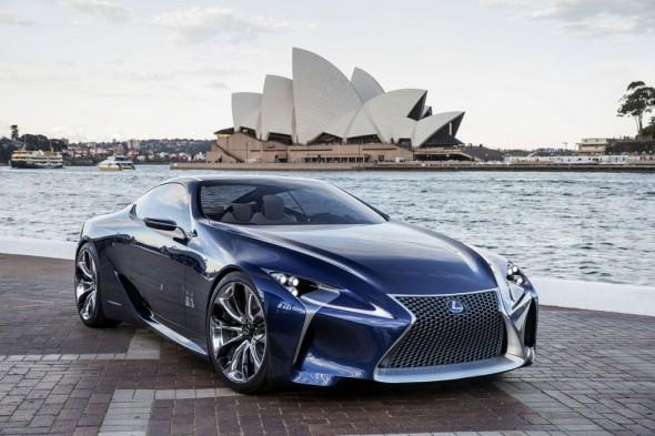 Lexus planea un relevo generacional parar el LFA 1