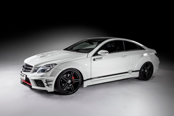 Mercedes Clase E Coupe por Prior Design 1
