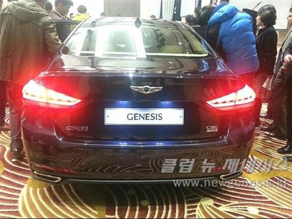 Muy de cerca: 2014 Hyundai Genesis 2