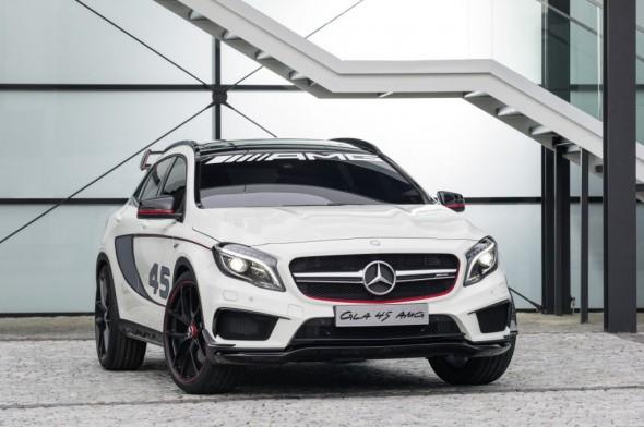 Oficial: Mercedes GLA45 AMG Concept 1