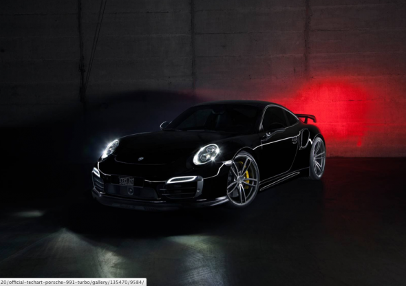 Oficial: TechArt Porsche 911 Turbo 1