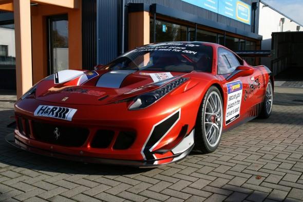 Racing One se atreve con el Ferrari 458 Challenge 1
