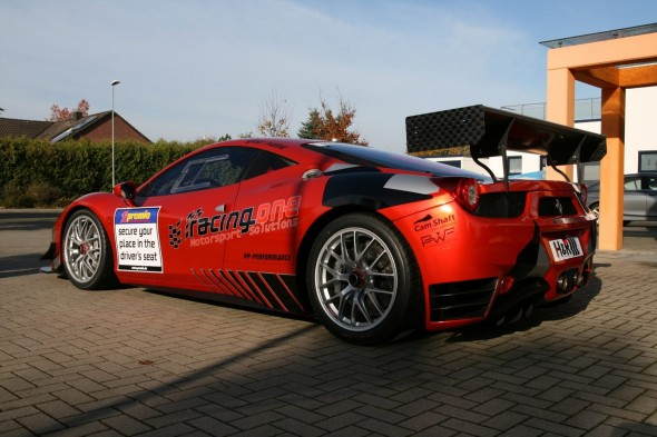 Racing One se atreve con el Ferrari 458 Challenge 2