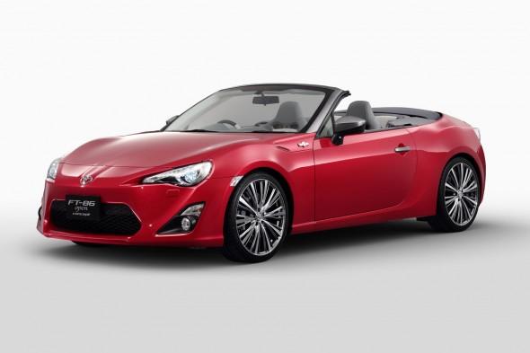 Toyota llevará el FT86 Open Concept al Salón del Automóvil de Tokio 1