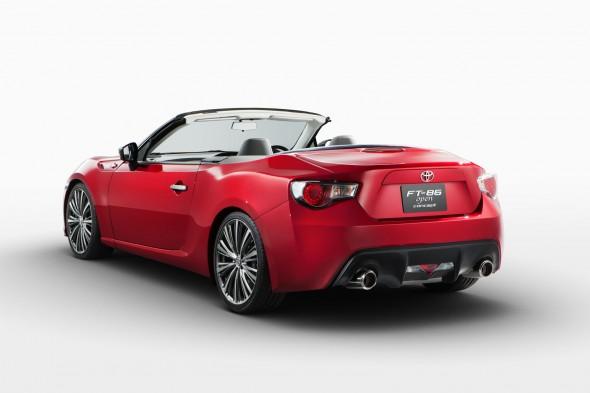Toyota llevará el FT86 Open Concept al Salón del Automóvil de Tokio 3