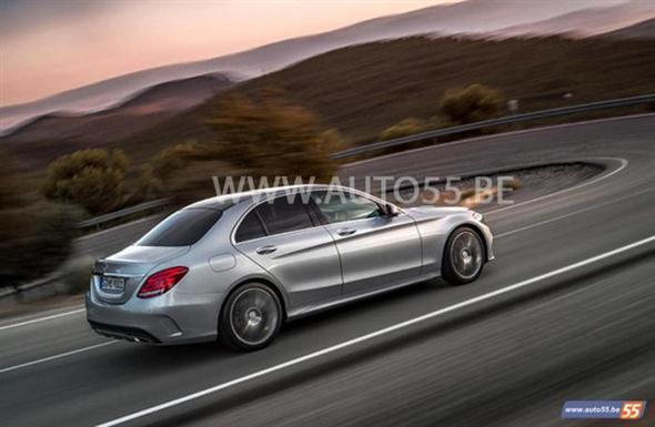 Ahora sí: 2014 Mercedes Clase C, filtrado  1