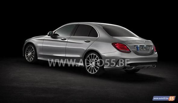 Ahora sí: 2014 Mercedes Clase C, filtrado  2