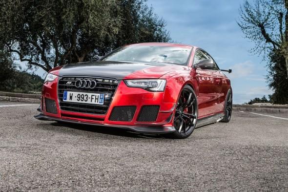 Audi RS5, bajo el rodillo de ABT 1