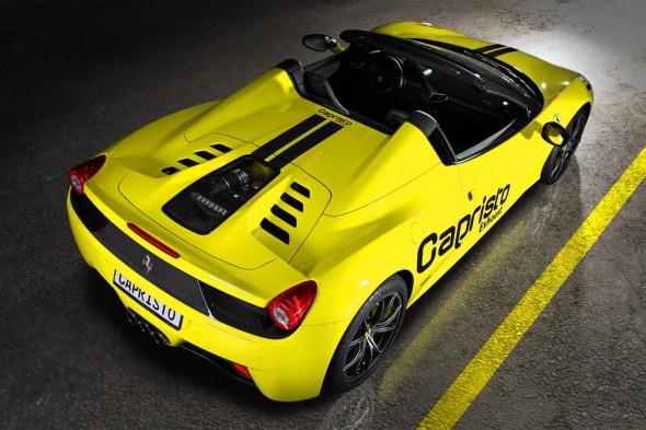 Capristo se atreve con el Ferrari 458 Spider 1
