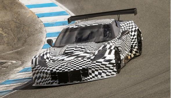 El Corvette C7.R será presentado oficialmente en Detroit 1