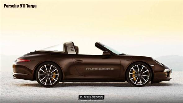 Muy de cerca: 2014 Porsche 911 Targa