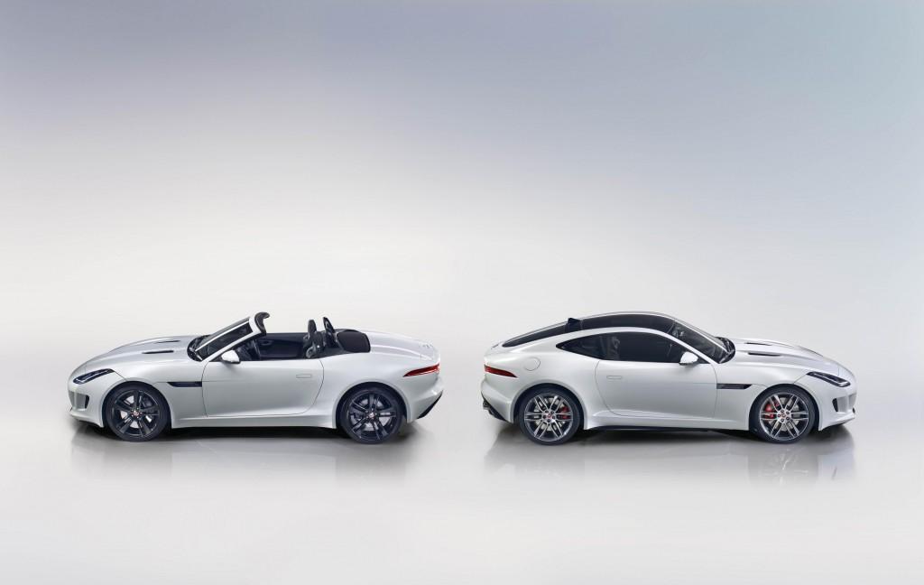 El Jaguar F-Type estará disponible con un 4 cilindros