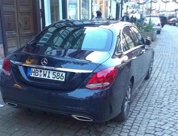 En vivo: 2014 Mercedes Clase C 1