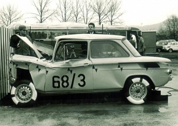 Las pruebas de impacto de Audi cumplen 75 años 2