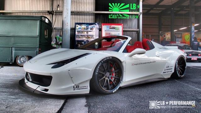LB Performance nos presenta su impresionante Ferrari 458 Spider 1