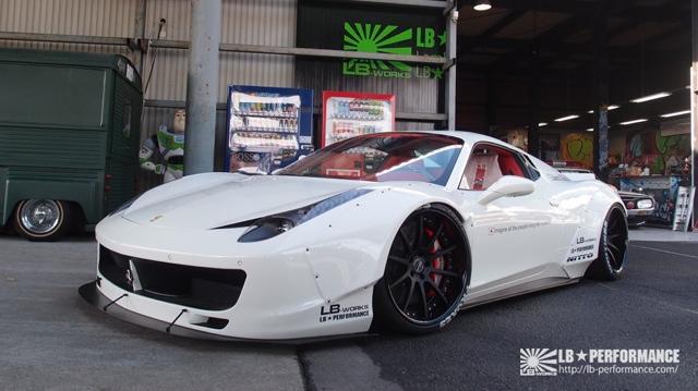 LB Performance nos presenta su impresionante Ferrari 458 Spider 3