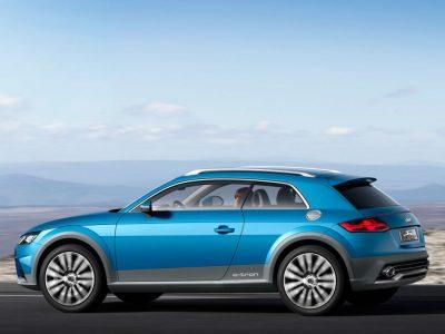 Audi nos muestra un concepto de Crossover que anticipa la línea del próximo TT