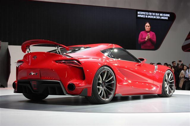 Detroit 2014: Toyota FT-1 2