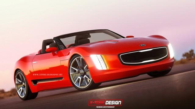 El Kia GT4 Stinger podría llegar a producción 2