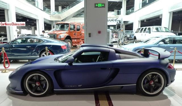 Gemballa Mirage GT Matte Blue Edition a la venta 2
