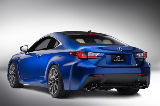"""Oficial: Lexus RC F, un """"alemán"""" llegado desde Japón 3"""