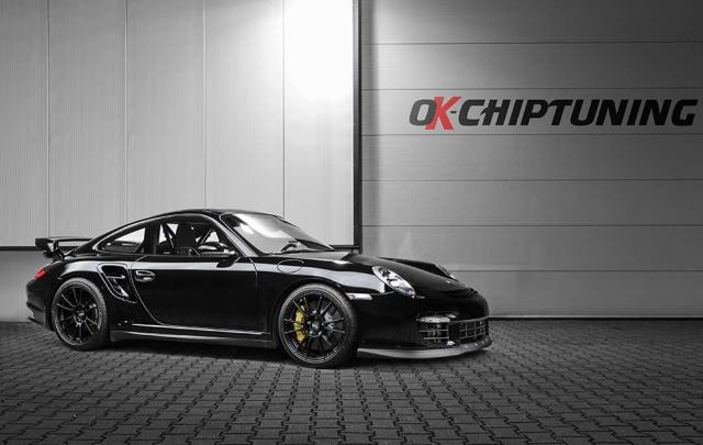 OK-Chiptunig se atreve con el Porsche 911 GT2 1