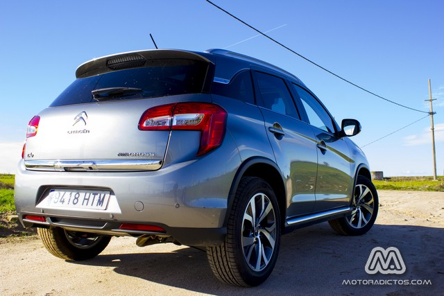 Prueba: Citroën C4 Aircross 1.6 HDI 115 CV 4WD Exclusive (diseño, habitáculo, mecánica) 1