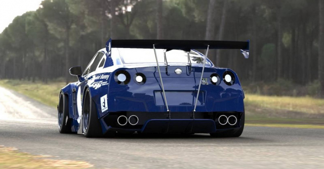 Rocket Bunny transforma estéticamente al Nissan GT-R 5