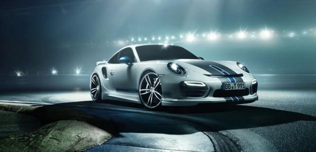 TechArt no muestra su nuevo catálogo de accesorios para el Porsche 911 Turbo 1