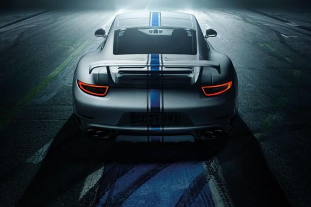 TechArt no muestra su nuevo catálogo de accesorios para el Porsche 911 Turbo 3