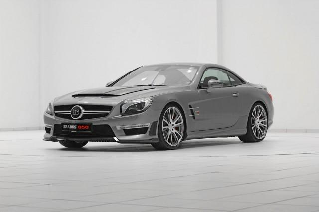 Brabus vuelve a la carga con un impresionante Mercedes SL63 AMG 1