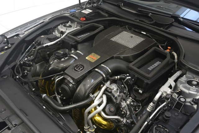Brabus vuelve a la carga con un impresionante Mercedes SL63 AMG 2