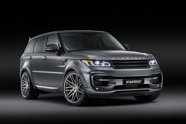 Brabus y Startech una mezcla más que curiosa para el Range Rover Sport 1