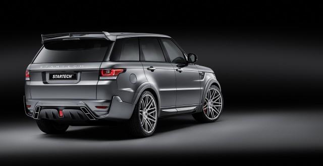 Brabus y Startech una mezcla más que curiosa para el Range Rover Sport 2