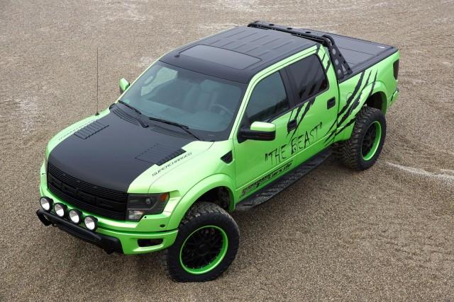GeigerCars se atreve con el nuevo Ford F-150 SVT Raptor 1