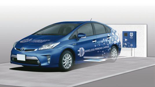 Toyota desarrolla un sistema inalámbrico de recarga de vehículos eléctricos
