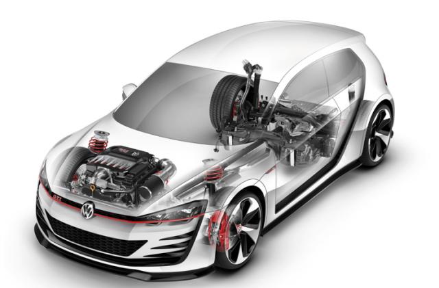 Volkswagen Golf R Evo, un compacto de 370 caballos 1